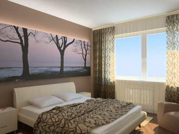 Спальня — место не только для сна