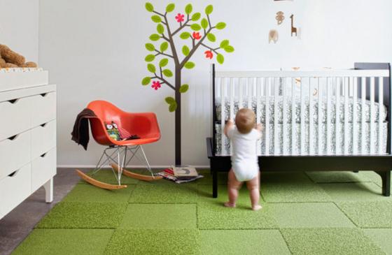 Как выбрать детский ковролин