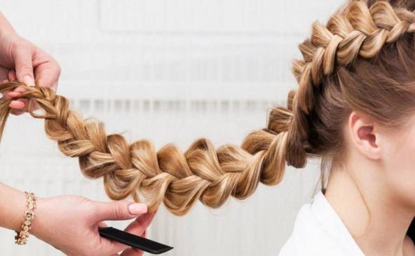 Плетение косичек: идеи для заплетённых причёсок