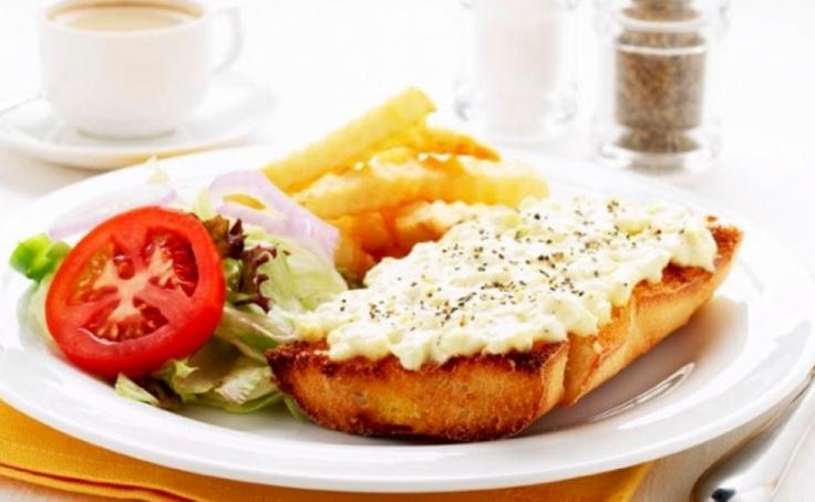 Рецепты завтрака с плавленным сыром