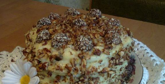 Замечательный творожный торт «Нежность»