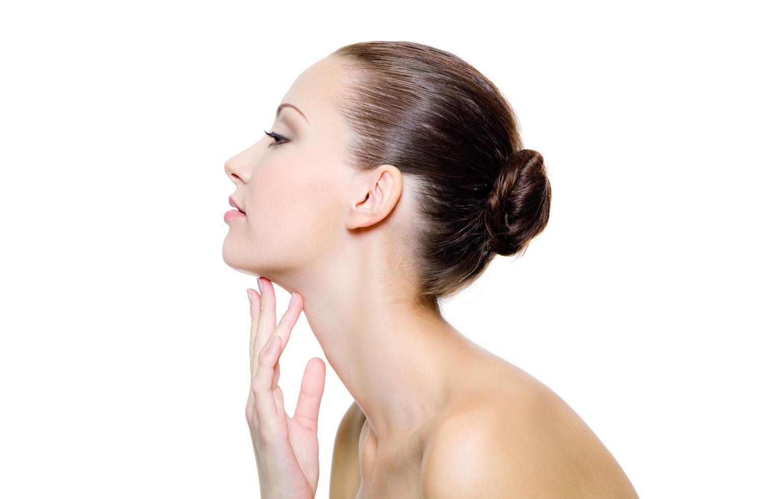 Как визуально удлинить шею