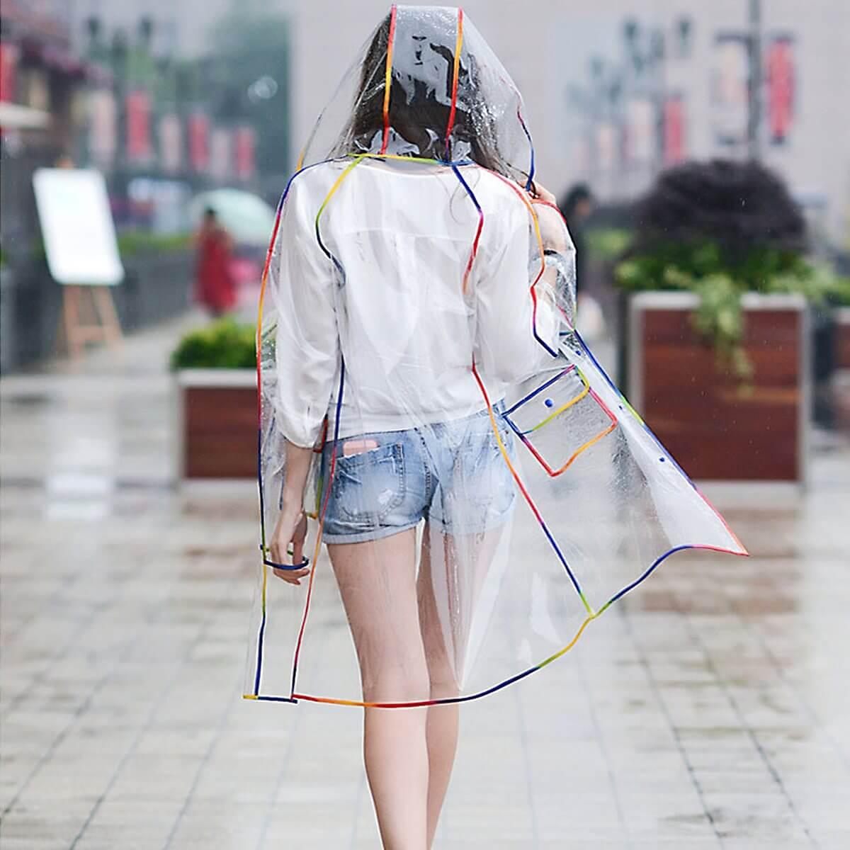 Стильные дождевики