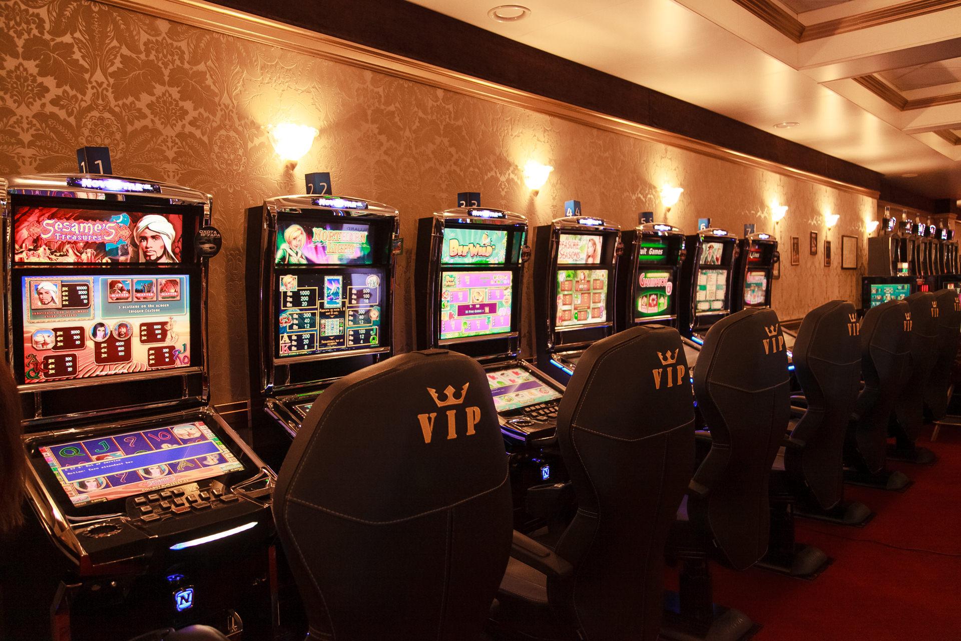 Казино онлайн. Основные типы игровых автоматов